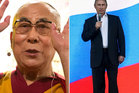 The Dalai Lama has criticised Vladimir Putin as being to self-centred. Photo / AP