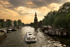 Cruising Amsterdam's canals is a stress-free way of travelling. Photo / Thinkstock