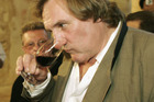 Gerard Depardieu says he sometimes drinks up to 14 bottles of wine a day. Photo/Getty