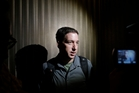Journalist Glenn Greenwald  claims  spies at the Government Communications Security Bureau are carrying out mass surveillance.  Photo / AP