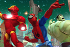 A scene from Disney Infinity: Marvel Super Heroes.