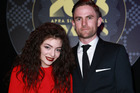 Lorde and Joel Little at last year's ceremony (Norrie Montgomery)