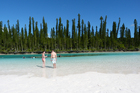 Whether you are relaxing in the water or lazing on the Isle of Pines' talcum power sands, New Caledonia will not disappoint. Photo / Megan Singleton