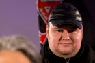 Kim Dotcom at the Internet Mana party event last night. Labour has blamed him for its poor performance