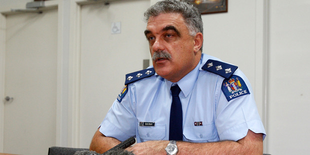 Inspector Keith Brady led a review of the altered statistics. Photo / NZPA
