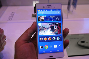 Sony's Xperia Z3 tops the test for battery life.