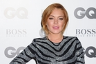 While Lindsay Lohan will have pulling power, people are wary of stars who are unreliable.  Photo / AP