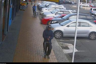 Police have released CCTV images of the teenager they believe is behind the attac