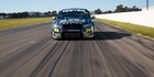 Kiwis' first drive of V8 car