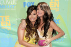 Actresses/singers Demi Lovato and Selena Gomez. Photo / Getty Images