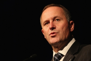John Key has made it up with Dunne and Peters. Photo / APN