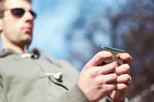Texting while walking can be hazardous. Photo / Thinkstock
