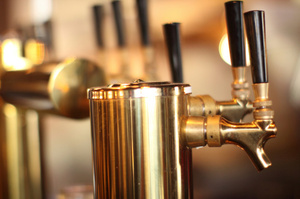 Beer taps helped improve the quality of beer. Photo / Getty Images