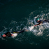 Swimmers in action during the Ironman 70.3 Auckland. Photo / Richard Robinson