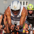 Terenzo Bozzone from New Zealand in action during the bike section of the Ironman 70.3 Auckland. Photo / Richard Robinson