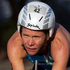 Samantha Warriner from New Zealand in action during the bike section of the Ironman 70.3 Auckland. Photo / Richard Robinson