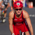 Joanna Lawn from New Zealand in action during the bike section of the Ironman 70.3 Auckland. Photo / Richard Robinson