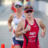 Joanna Lawn from New Zealand in action during the run section of the Ironman 70.3 Auckland. Photo / Richard Robinson