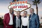Last Vegas brings together Hollywood greats Morgan Freeman, Michael Douglas, Robert De Niro and Kevin Kline.
