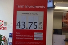 Interest rates at Westpac, St Lukes look pretty good for anyone with some cash to invest.