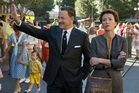Tom Hanks plays Walt Disney to Emma Thompson's reluctant P.L. Travers.