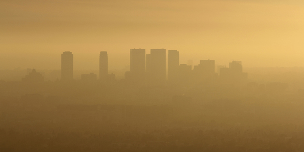 Smog in West LA. Photo / Thinkstock