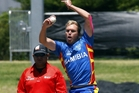 Namibian bowler Christi Viljoen will be a key player in today's crucial clash with Papua New Guinea at Bay Oval. Photo/George Novak