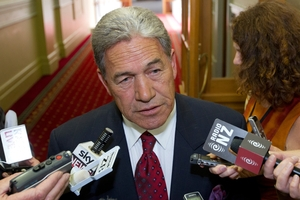 Winston Peters has not survived this long in politics by misreading the popular will. Photo / Mark Mitchell