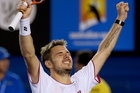 Stanislas Wawrinka's positive attitude is working. Photo / AP