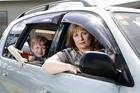 Elizabeth Gailer with her 9-year-old son Callum. Photo / Chris Gorman