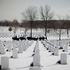 An Army honor guard escorts the caisson carrying the coffin containing the remains of Army Sgt. Peter C. Bohler, during burial services at Arlington National Cemetery in Arlington, Va. Photo / AP