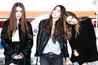 Girl group Haim will perform at 8pm on Laneway's Mysterex stage.
