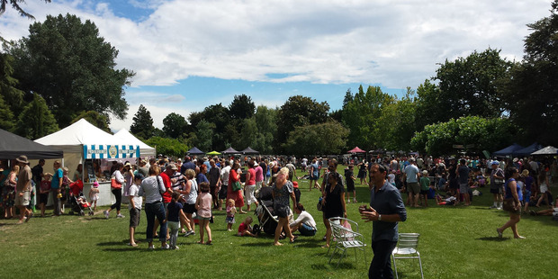 There was a smaller crowd than expected at the Back Yard Summerfest this year at Waikoko Gardens.