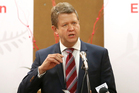 David Cunliffe yesterday said Labour supported deep sea oil and gas exploration 'in principle' but would pass laws to toughen environmental protection. Photo / APN