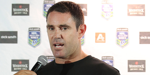 Brad Fittler's participation in the Auckland Nines has been confirmed. Photo / Getty Images.