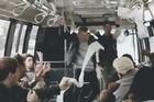 Watch what happens when Macklemore and Ryan Lewis surprise a bus full of New Yorkers. Courtesy: YouTube/The GRAMMYs