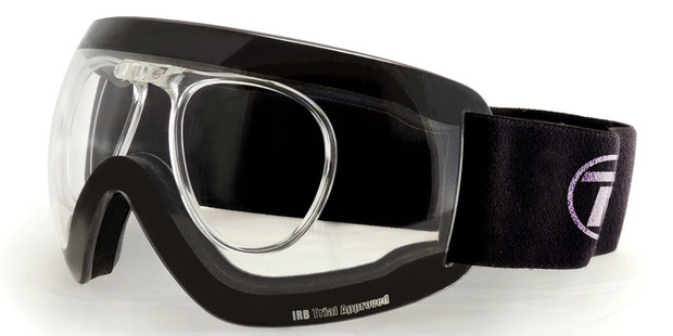 Rugby players who wear glasses will now be able to see clearly during games thanks to the introduction of Rugby Goggles. Photo / Raleri.com