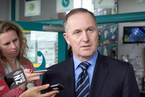 Prime Minister John Key. Photo / Natalie Slade