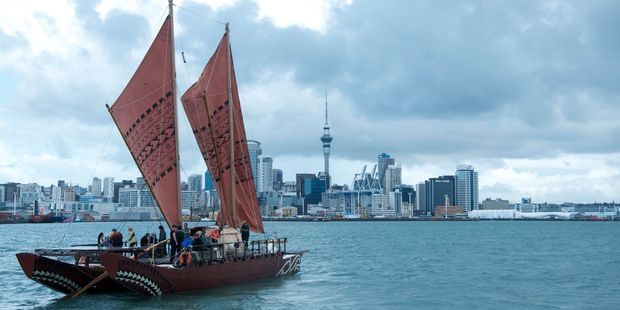 Auckland's Voyager New Zealand Maritime Museum is offering a cultural experience aboard the Waka Haunui.