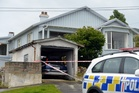 The scene of the triple fatality in Kiwi St, St Leonards, Dunedin. Photo / Otago Daily Times