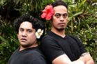 Iaheto Ah Hi (left) and Taofia Pelesasa in Black Faggot.  Photo / Liesha Ward Knox