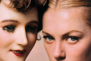 Model and Mannequin, American Vogue cover, November 1, 1945; from Selling Dreams  at Auckland Museum. Picture/Erwin Blumenfeld Estate/Victoria and Albert Museum