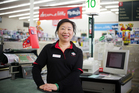 Solo mum Misty Leong who found a job at the Devonport New World supermarket with the support from Work and income and InnWork NZ. Photo / Greg Bowker
