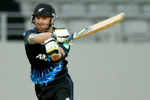Brendon McCullum is already a big name in India. Photo / Getty Images