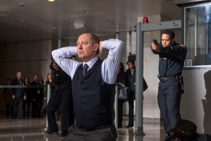 James Spader as 'Red' Raymond Reddington in 'The Blacklist'. Photo / AP