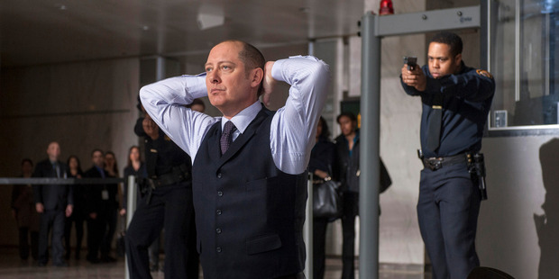 James Spader as 'Red' Raymond Reddington in 'The Blacklist'. Photo / AP