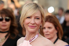Cate Blanchett arrives at the 20th annual Screen Actors Guild Awards. Photo / AP