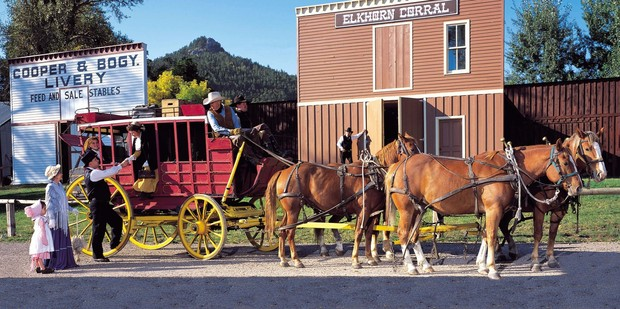 The stagecoach brought the good and the bad to one of the roughest towns in the West.