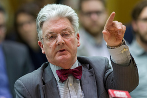 United Future Party leader Peter Dunne. File photo / Mark Mitchell