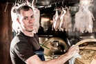 Chef Che Barrington of Blue Breeze Inn in Ponsonby, and new noodle bar Chop Chop. Photo / Babiche Martens.